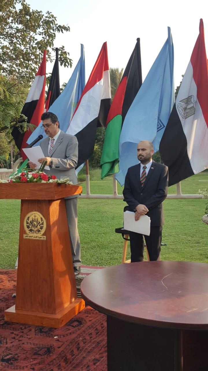 أفغانستان تهدى مصر تمثال جمال الدين الأفغانى فى عيد افتتاح قناة السويس الجديدة (1)