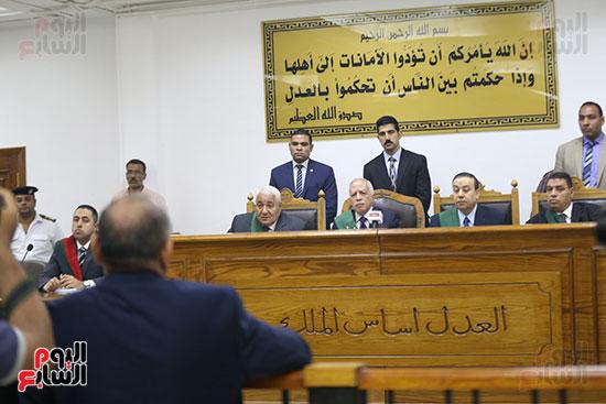 صور محاكمة  حبيب العادلى بـالاستيلاء على أموال الداخلية (8)