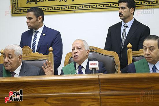 صور محاكمة  حبيب العادلى بـالاستيلاء على أموال الداخلية (1)