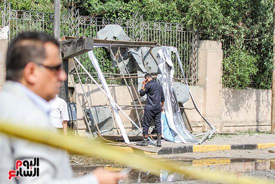 انفجار سيارتين فى مطلع كوبرى اكتوبر (46)