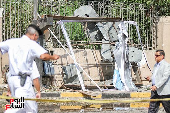 انفجار سيارتين فى مطلع كوبرى اكتوبر (51)