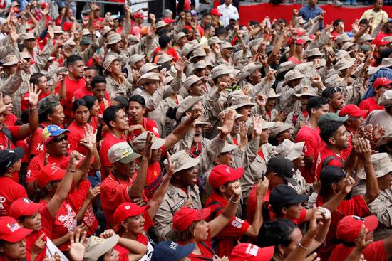 قوات الجيش والمواطنون