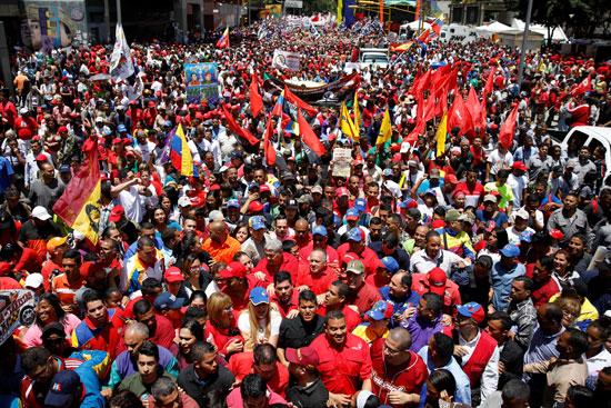 مسيرات تأييد نيكولاس مادورو