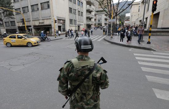 الجيش الكولومبى