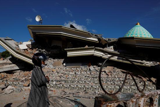 جانب من خسائر الزلزال