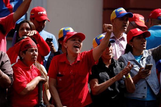 جانب من المشاركين بالمسيرة