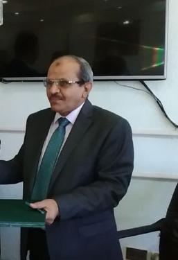 الدكتور أشرف رحيل نائب رئيس الجامعة