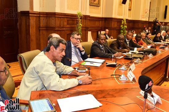لجان زراعة البرلمان الأفريقى (11)