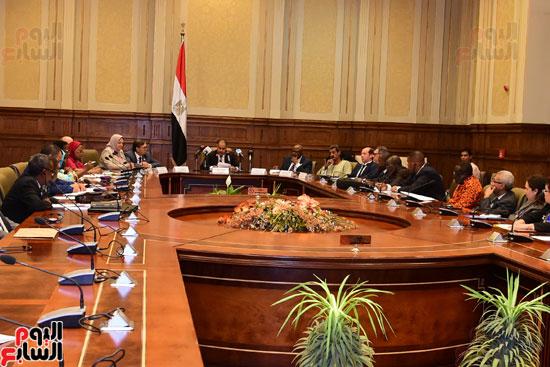 لجان زراعة البرلمان الأفريقى (7)