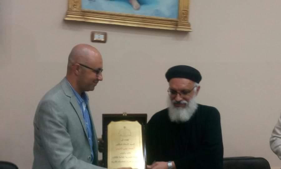 انطلاق فعاليات معرض الكتاب بالكاتدرئية المرقسية في الإسكندرية (9)