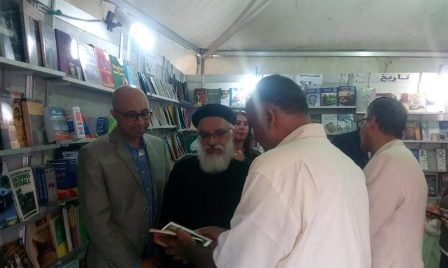 انطلاق فعاليات معرض الكتاب بالكاتدرئية المرقسية في الإسكندرية (5)