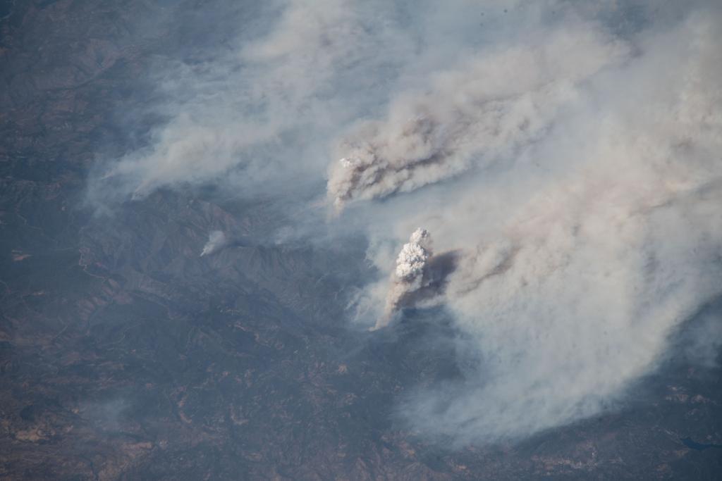 اشتعال الحرائق فى كاليفورنيا