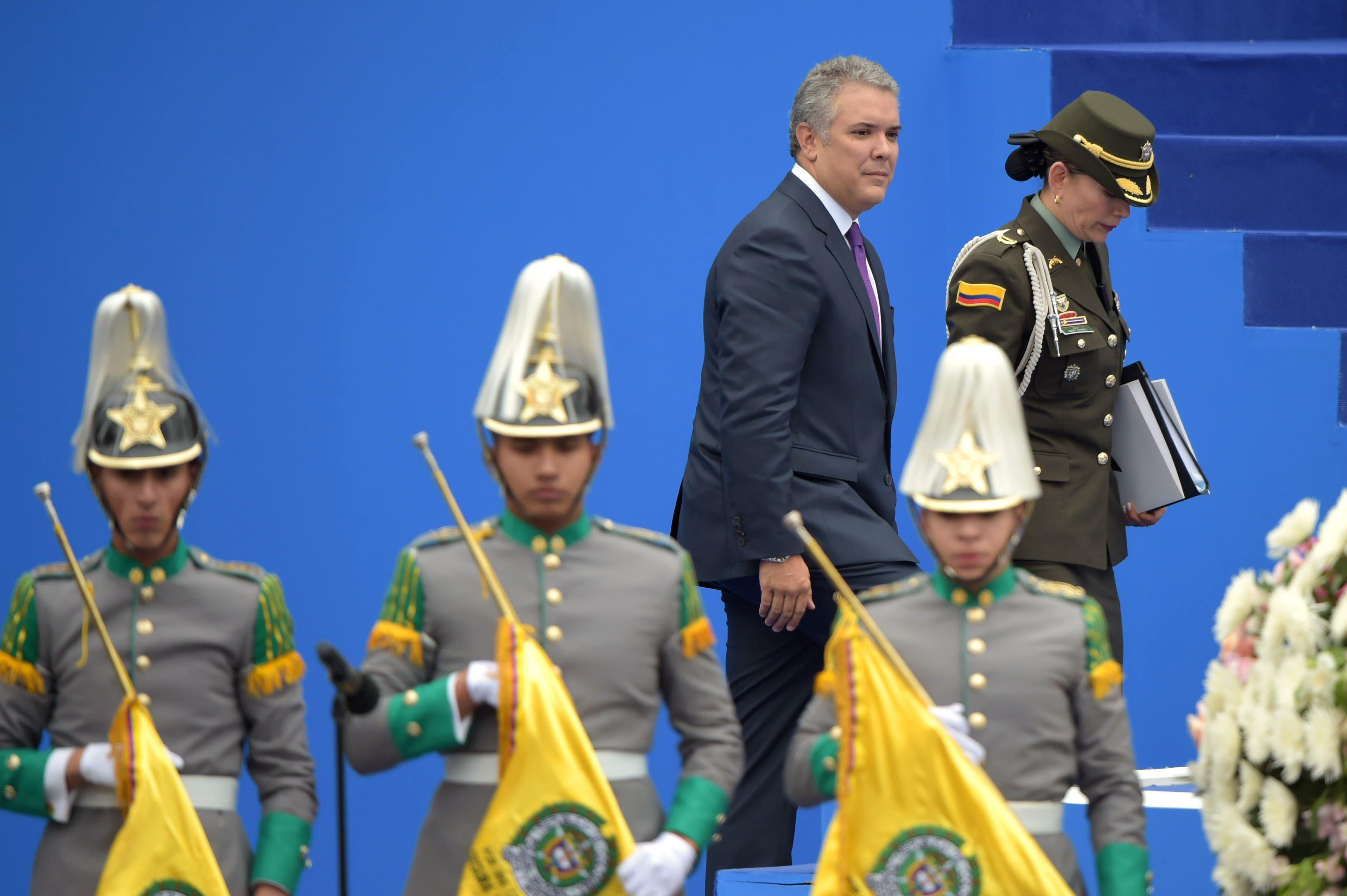 الجيش الكولمبى