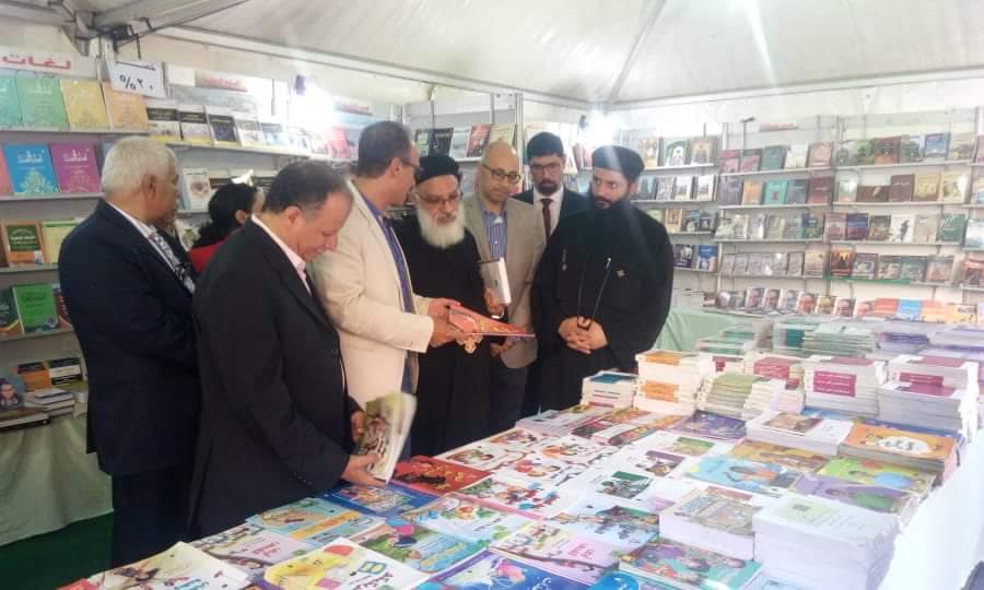 انطلاق فعاليات معرض الكتاب بالكاتدرئية المرقسية في الإسكندرية (1)