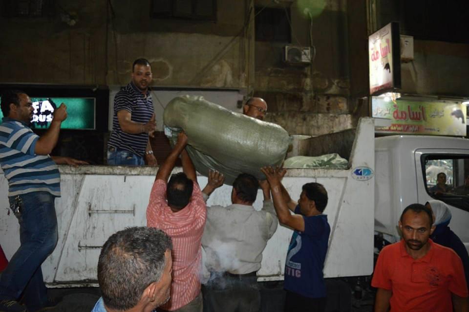 حملات مستمرة فى بورسعيد للتصدى لظاهرة التهريب الجمركى (7)