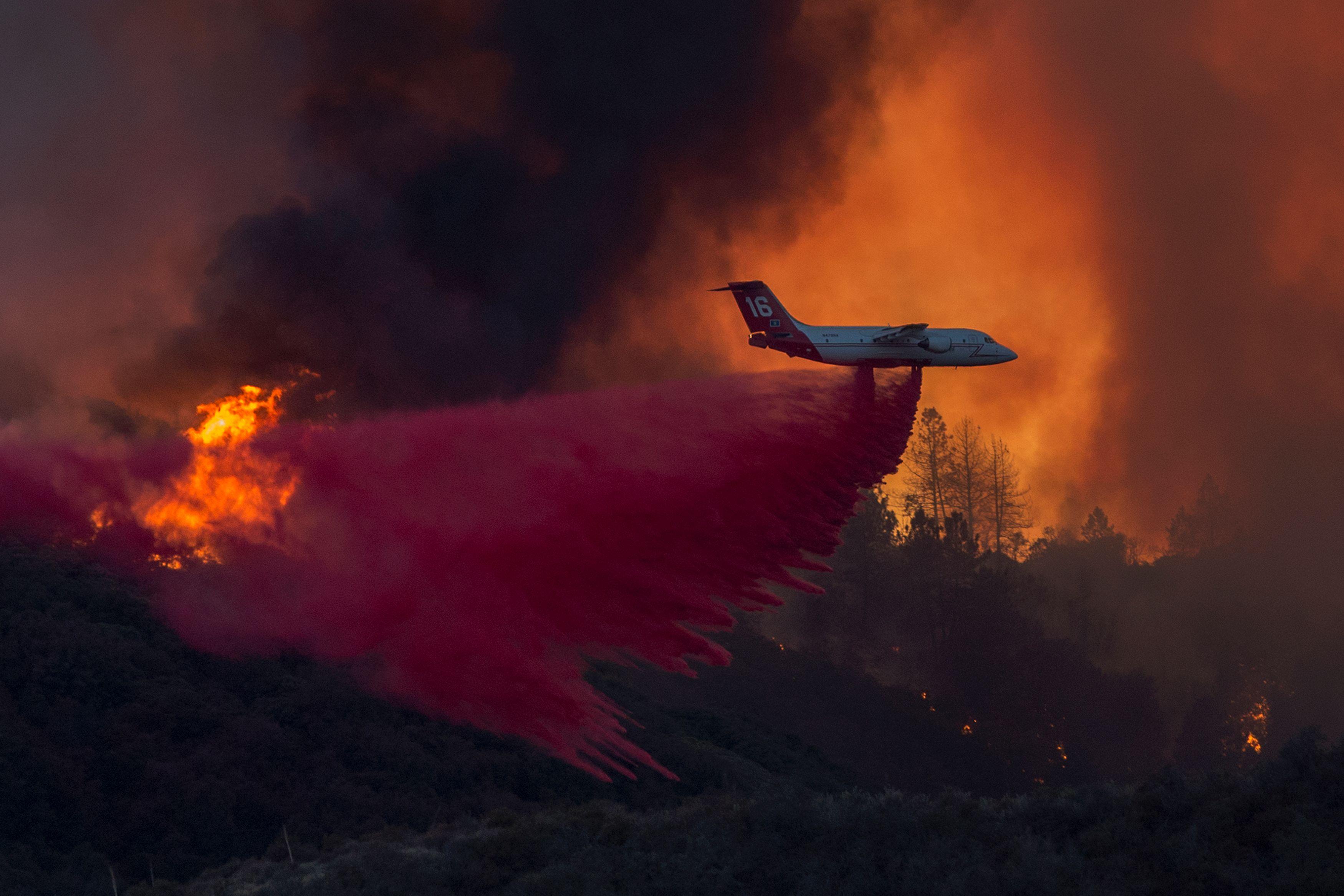 إطفاء الغابات