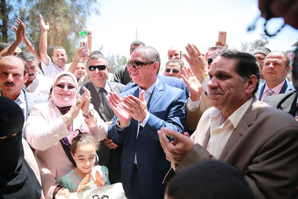 محافظ كفر الشيخ يفتتح 3 مدارس بكفر الشيخ