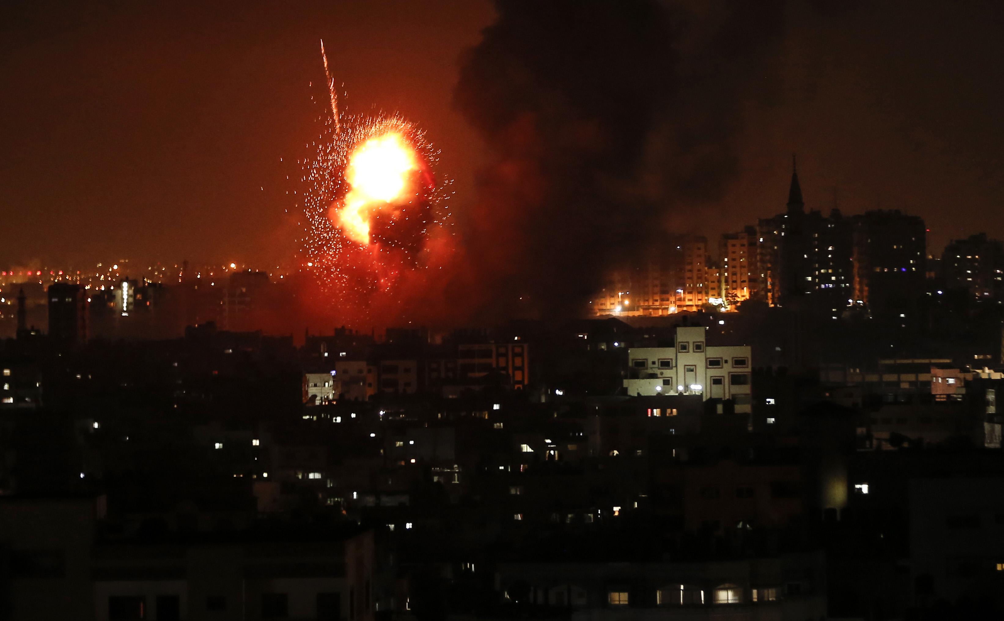 ارتفاع اللهب جراء عنف الاحتلال