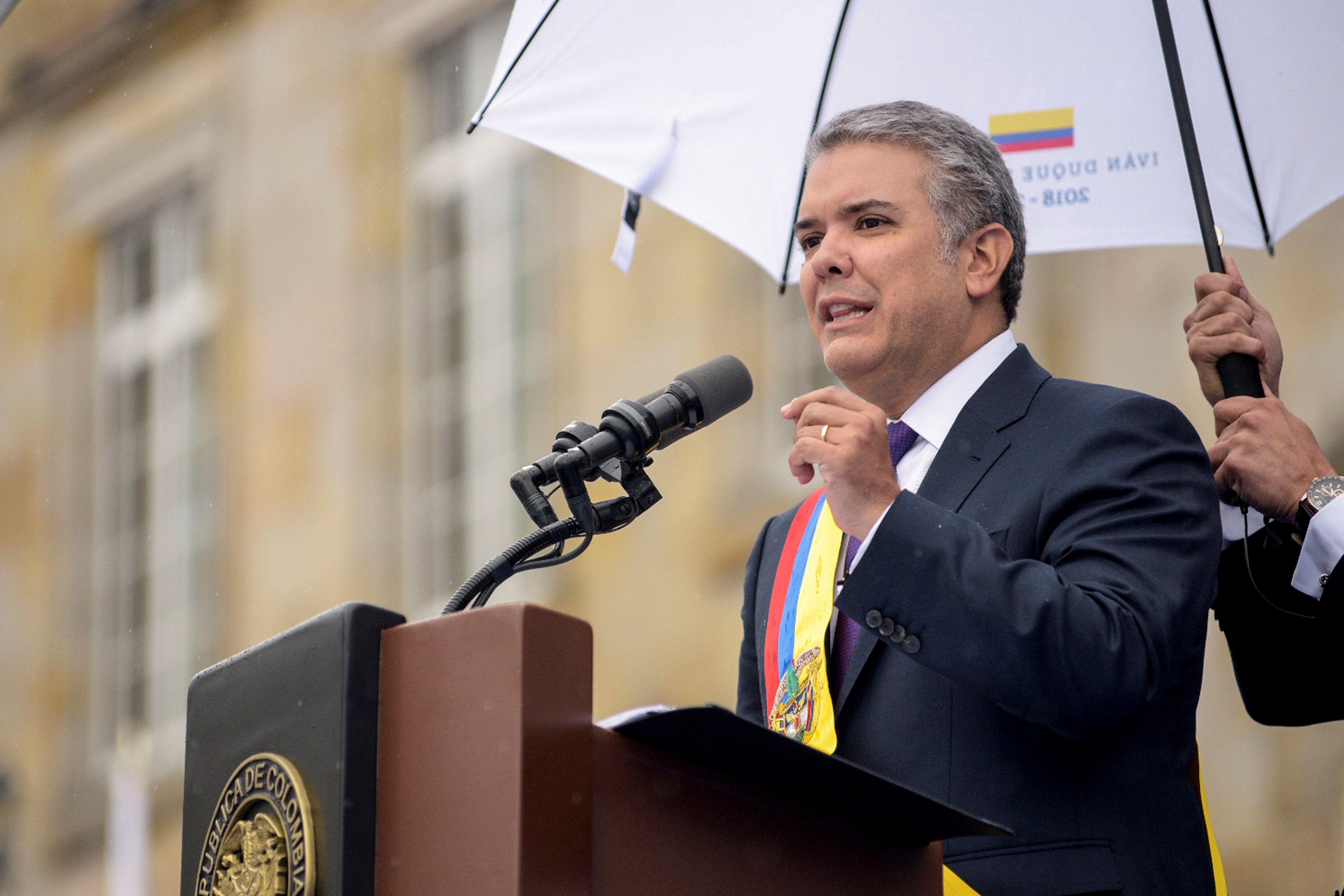 كلمة رئيس كولومبيا إيفان دوكى