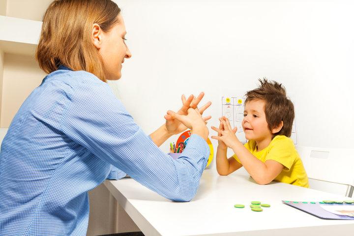 الطفل مريض التوحد