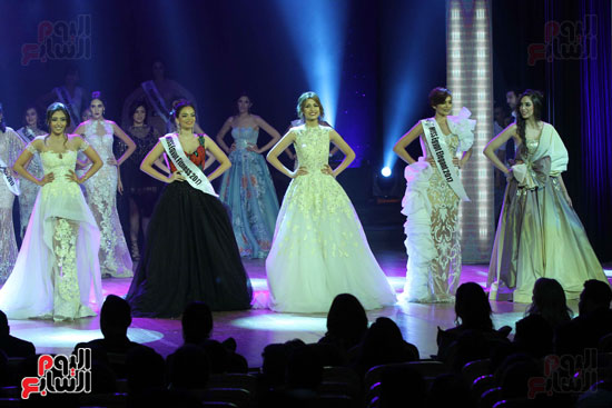 تتويج ملكة جمال مصر (4)