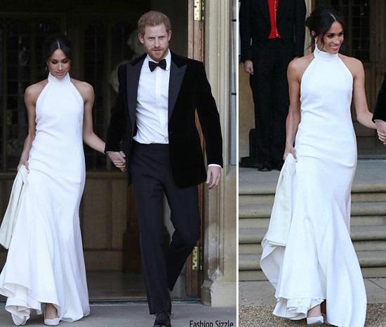فستان حفل الاستقبال يقدر سعره بـ 157 ألف دولار