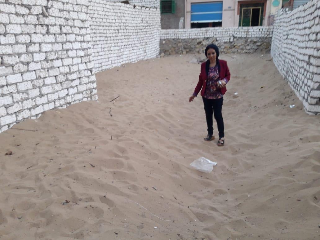 الرمال فى حمام سعدون