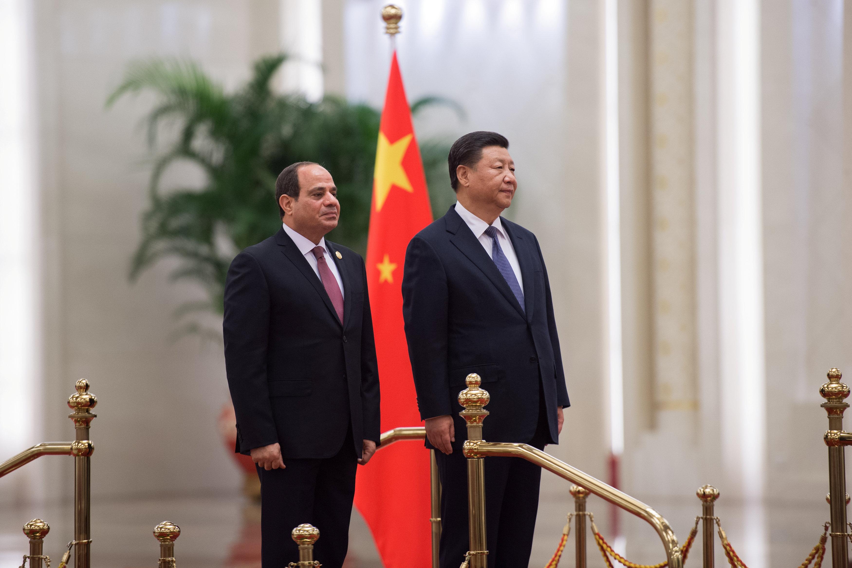 مراسم استقبال رسمية للسيسى فى بكين  (8)