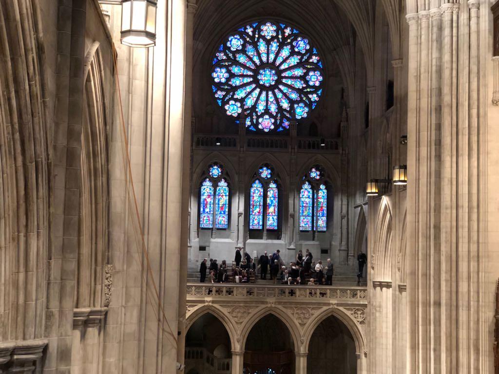داخل كاتدرائية تأبين ماكين فى واشنطن (10)