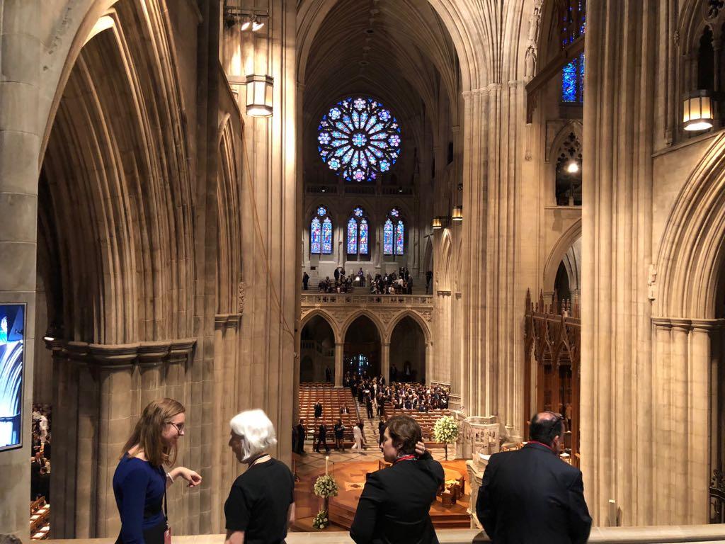 داخل كاتدرائية تأبين ماكين فى واشنطن (9)