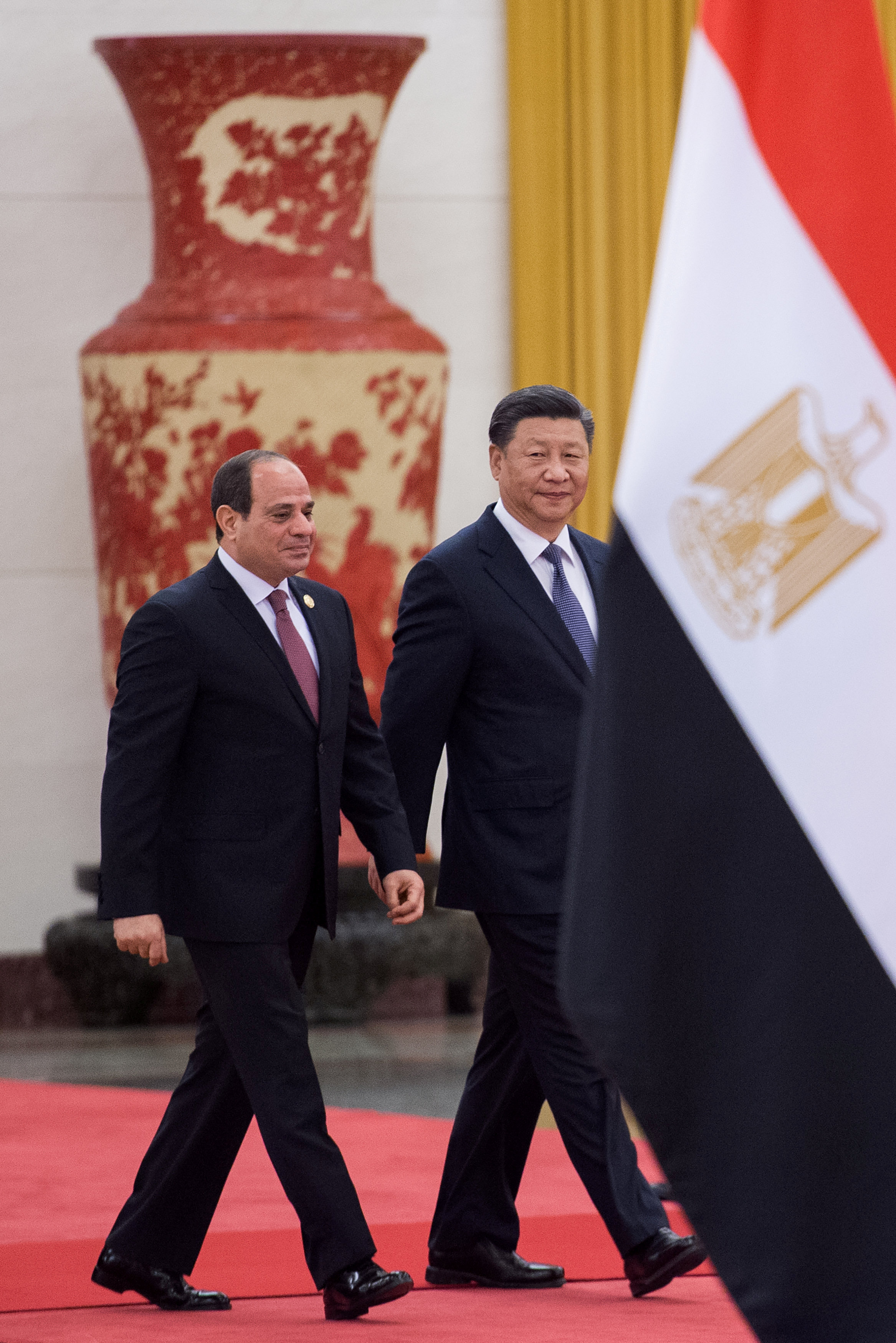 مراسم استقبال رسمية للسيسى فى بكين  (11)