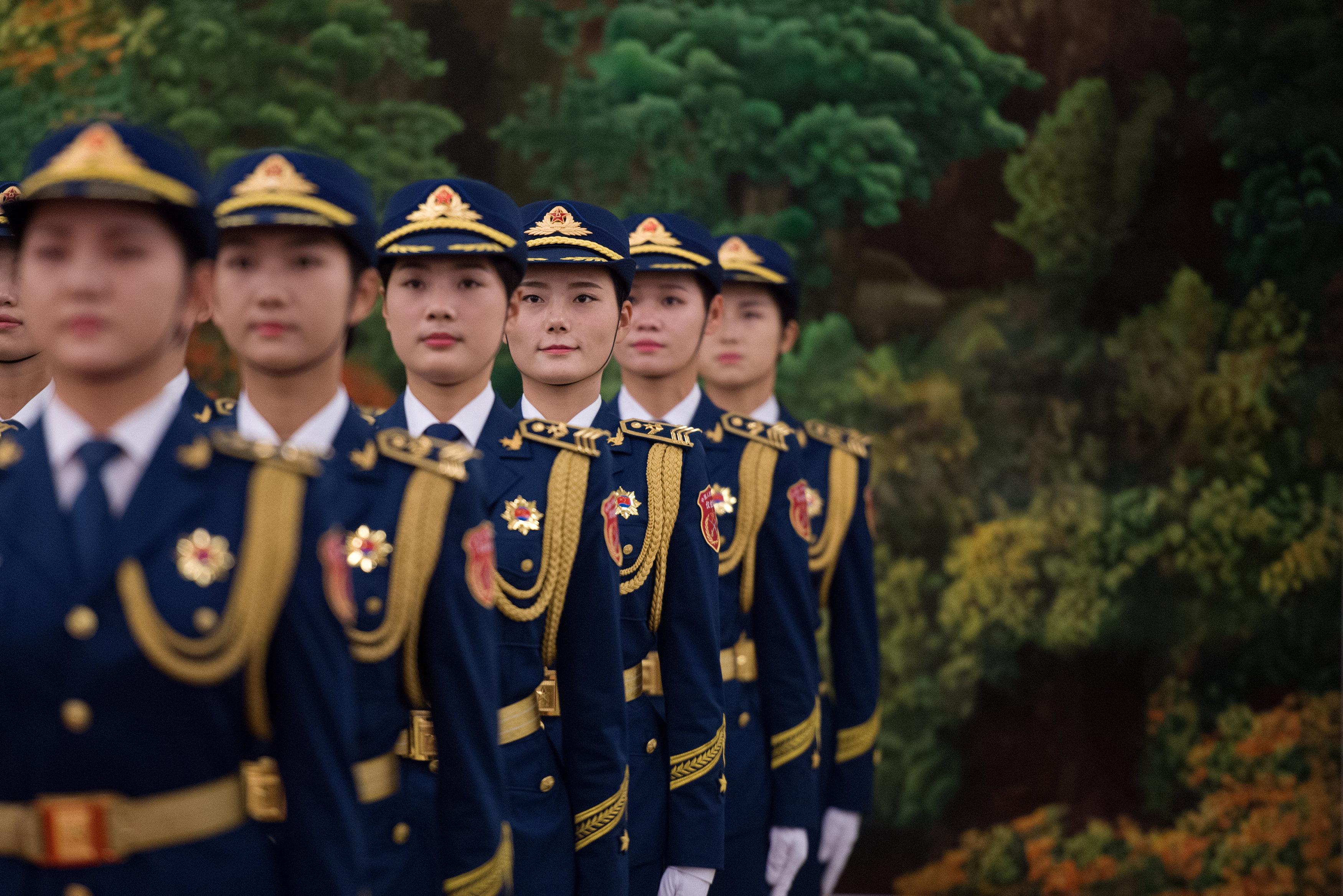 مراسم استقبال رسمية للسيسى فى بكين  (7)