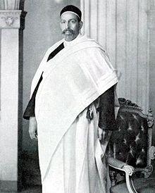 الملك الليبى محمد إدريس السنوسى