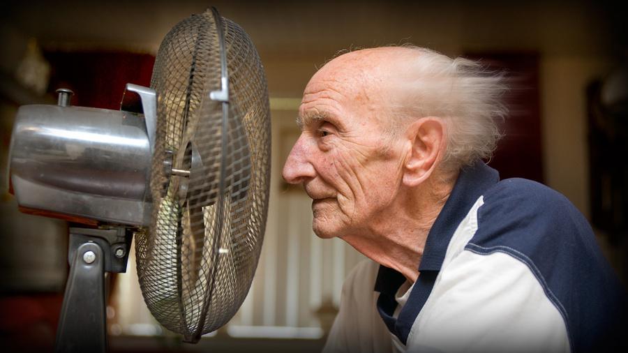 كبار السن والاجهاد الحرارى