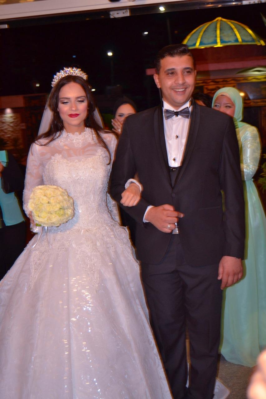العروسان خلال الحفل