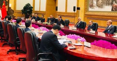 الرئيس السيسى فى بكين