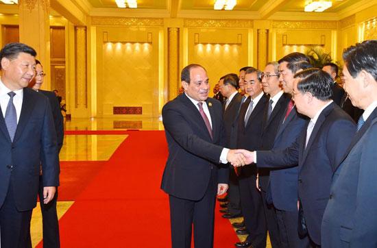 مراسم-استقبال-رسمية-للسيسى-فى-بكين--(1)