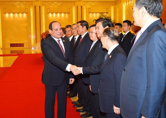 مراسم-استقبال-رسمية-للسيسى-فى-بكين--(5)
