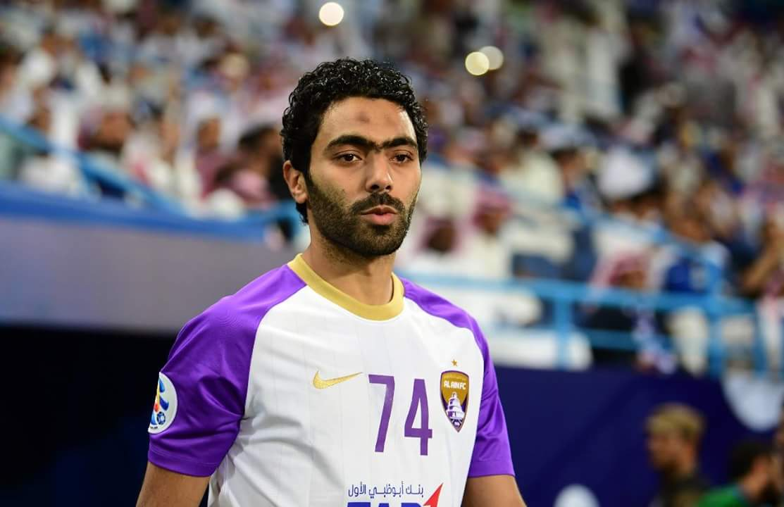 حسين الشحات لاعب العين الاماراتي