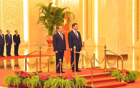 مراسم-استقبال-رسمية-للسيسى-فى-بكين--(6)