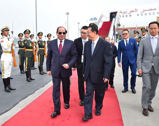 مراسم-استقبال-رسمية-للسيسى-فى-بكين--(13)