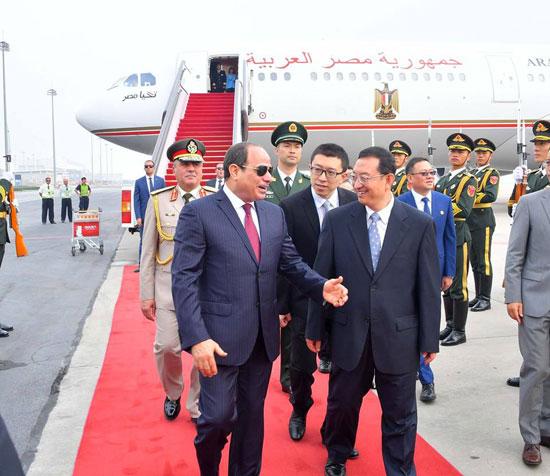 مراسم-استقبال-رسمية-للسيسى-فى-بكين--(14)