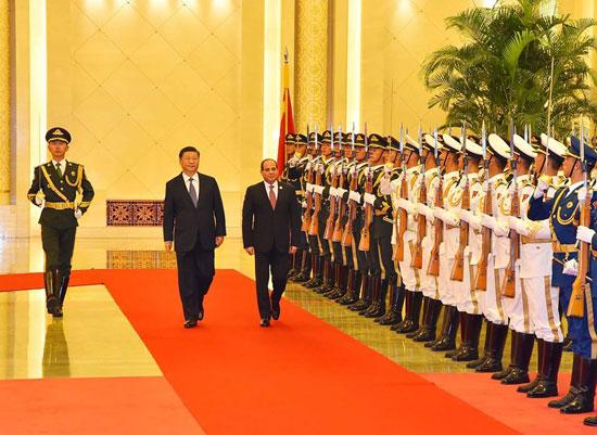 مراسم-استقبال-رسمية-للسيسى-فى-بكين--(17)