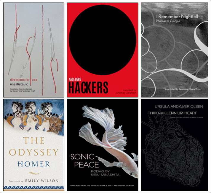 National Translation Award 2018 Poetry Shortlist