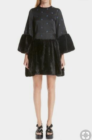 أزياء ـ فساتين مع الفرو (2)