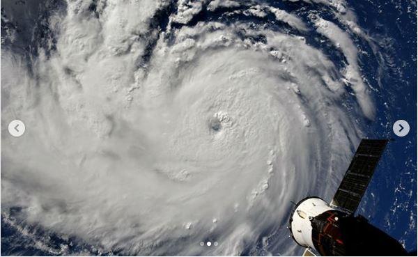 صورة للإعصار