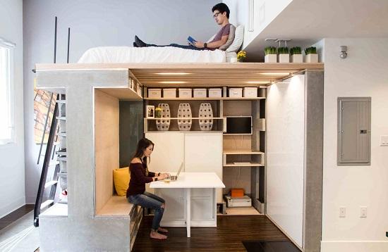 1a62acbaa أخر كلام | شقة كاملة X أوضة واحدة.. حلول مبتكرة للمساحات الصغيرة