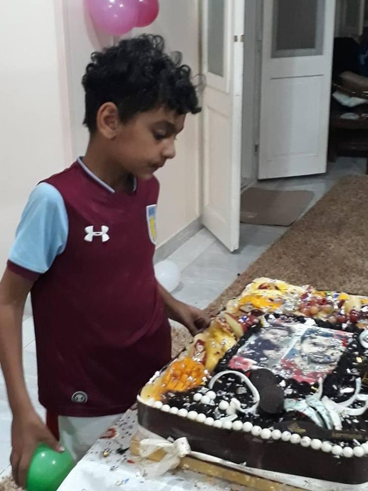 احتفال أسرة أحمد المحمدى بعيد ميلاده