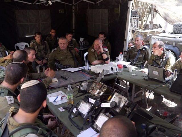 استعداد جيش الاحتلال للحرب