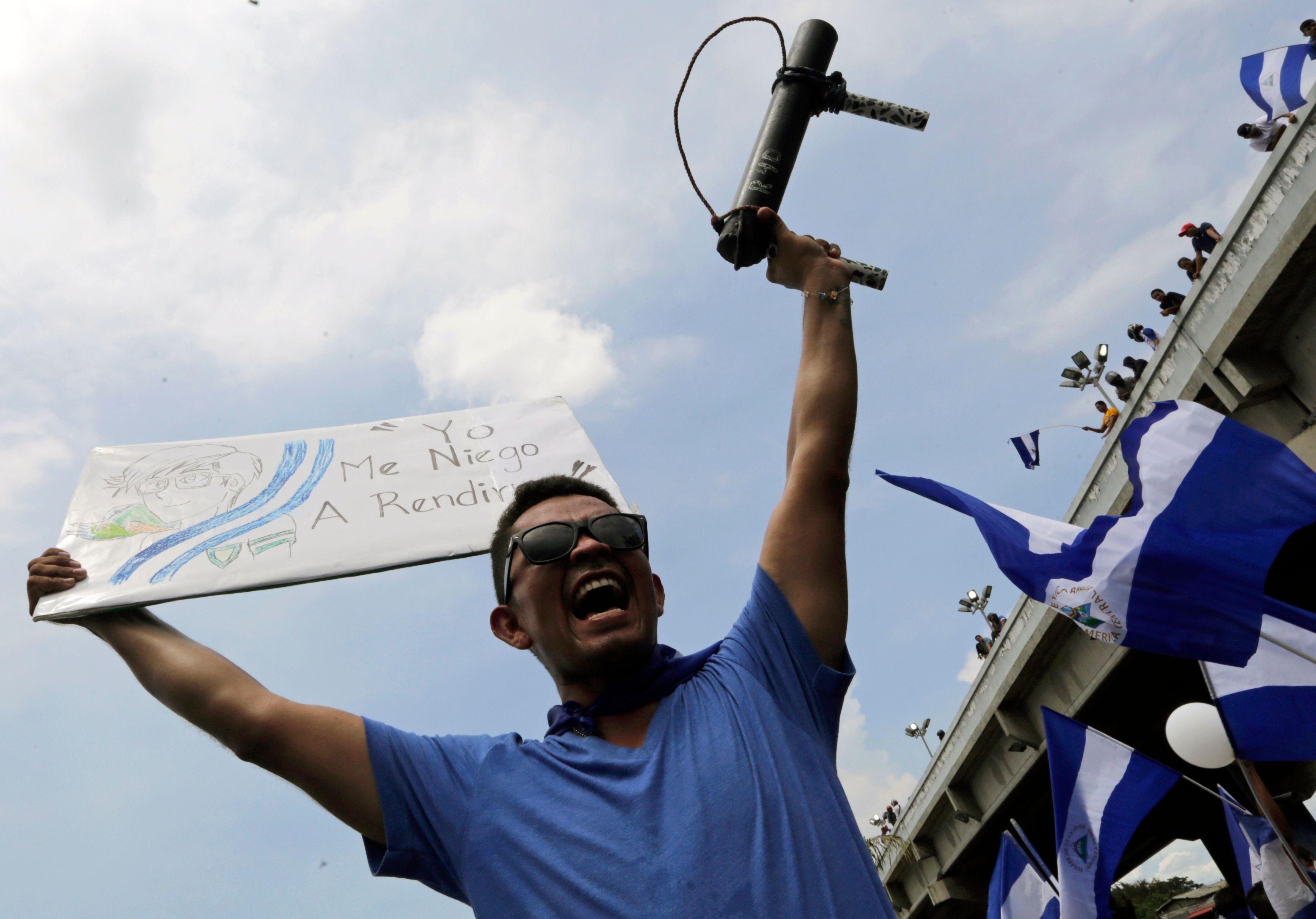 احتجاجات نيكاراجوا